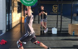 CrossFit Man Weightlifting H1 CrossFit Silverdale Auckland