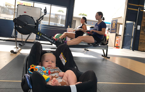 Two Moms Rowing CrossFit Silverdale Auckland