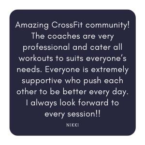 CrossFit Silverdale Auckland Orewa Quote Testimonial