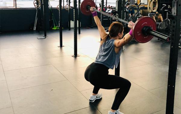 CrossFit Overhead Squat Female